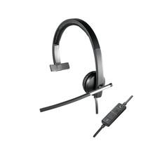 Logitech H650e Headset Hoofdband Zwart, Grijs