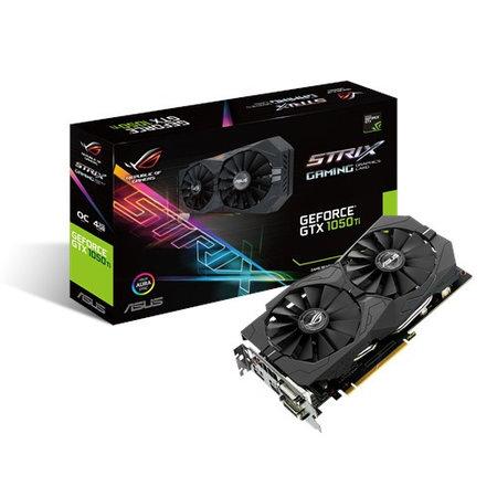 Asus ASUS STRIX-GTX1050TI-O4G-GAMING NVIDIA GeForce GTX 1050 Ti 4 GB GDDR5