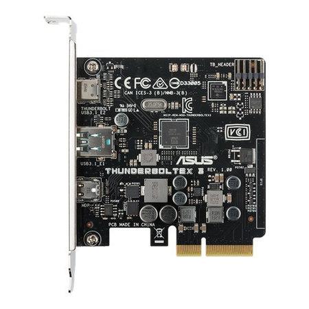 Asus ASUS ThunderboltEX 3 interfacekaart/-adapter Thunderbolt 3,Thunderbolt Intern
