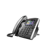 POLY VVX 411 IP telefoon Zwart Handset met snoer TFT 12 regels