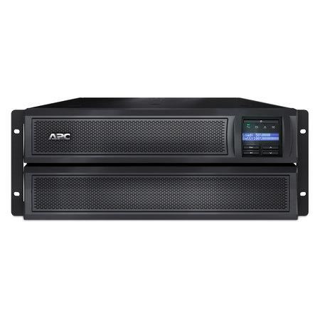 APC APC Smart-UPS X SMX2200HV Noodstroomvoeding 8x C13, 2x C19 uitgang, USB, short depth, 2200VA