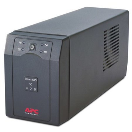 APC APC Smart-UPS 420VA noodstroomvoeding 4x C13 uitgang, serieel
