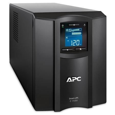 APC APC Smart-UPS SMC1500IC Noodstroomvoeding - 8x C13, USB, SmartConnect, 1500VA