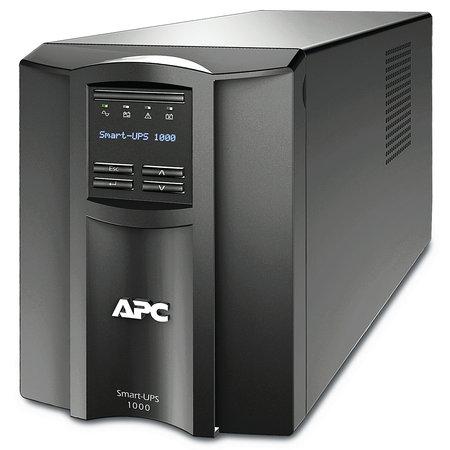 APC APC Smart-UPS SMT1000IC Noodstroomvoeding - 8x C13, USB, SmartConnect, 1000VA