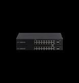 Ubiquiti Ubiquiti Networks EdgeSwitch ES-18X netwerk-switch Managed L2 Gigabit Ethernet (10/100/1000) Power over Ethernet (PoE) Zwart