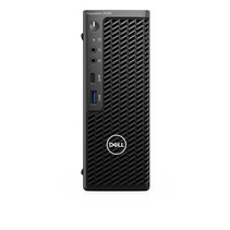 DELL Precision 3240 Intel® 10de generatie Core™ i7 i7-10700 16 GB DDR4-SDRAM 512 GB SSD CFF Zwart Workstation Windows 10 Pro