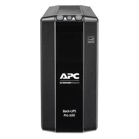 APC APC Back-UPS PRO BR650MI - Noodstroomvoeding, 6x C13 uitgang, USB, 650VA