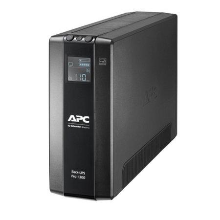APC APC Back-UPS PRO BR1300MI - Noodstroomvoeding, 8x C13 uitgang, USB, 1300VA
