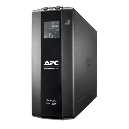 APC APC Back-UPS PRO BR1600MI - Noodstroomvoeding, 8x C13 uitgang, USB, 1600VA