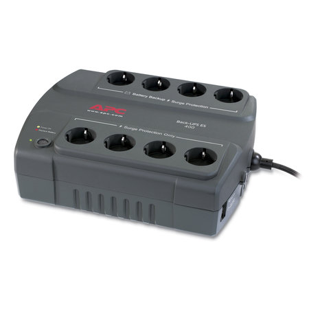 APC APC Back-UPS 400VA noodstroomvoeding 8x stopcontact
