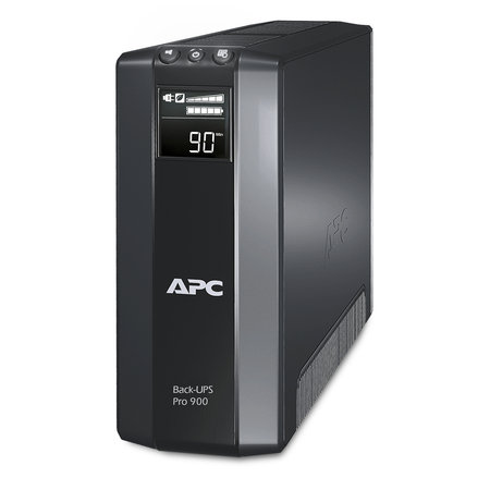 APC APC Back-UPS PRO 900VA noodstroomvoeding 5x stopcontact, USB