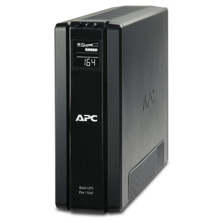 APC APC Back-UPS PRO 1500VA noodstroomvoeding 6x stopcontact, USB, uitbreidbare runtime