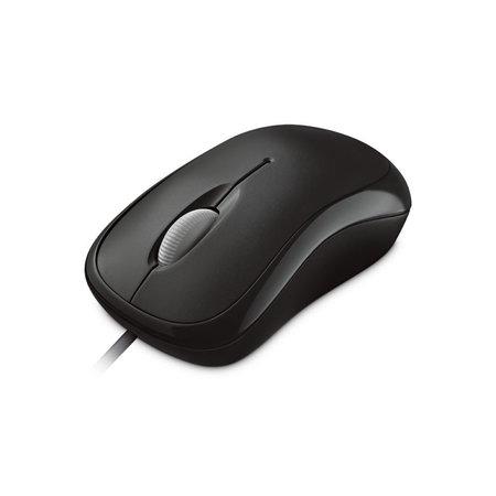 Microsoft Microsoft Basic Optical Mouse muis USB Type-A Optisch 800 DPI Ambidextrous