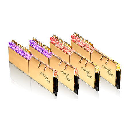 G.Skill G.Skill Trident Z Royal F4-4000C18Q-128GTRG geheugenmodule 128 GB 4 x 32 GB DDR4 4000 MHz