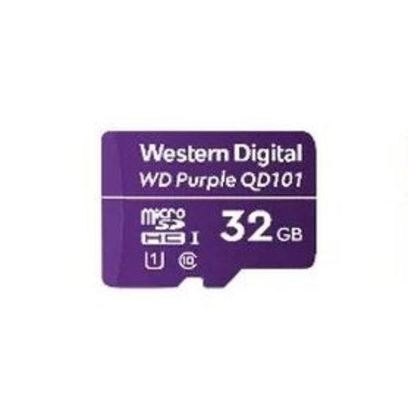 Western Digital Western Digital WD Purple SC QD101 flashgeheugen 32 GB MicroSDHC Klasse 10