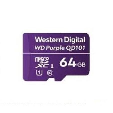 Western Digital Western Digital WD Purple SC QD101 flashgeheugen 64 GB MicroSDXC Klasse 10