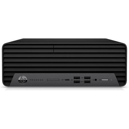 Hewlett & Packard INC. HP ProDesk 600 G6 Intel® 10de generatie Core™ i5 i5-10500 8 GB DDR4-SDRAM 256 GB SSD SFF Zwart PC Windows 10 Pro
