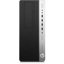 HP EliteDesk 800 G5 Intel® 9de generatie Core™ i5 9500 8 GB DDR4-SDRAM 256 GB SSD Tower Zwart PC Windows 10 Pro