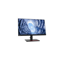 "Lenovo ThinkVision T24h-20 60,5 cm (23.8"") 2560 x 1440 Pixels WQHD LCD Zwart"