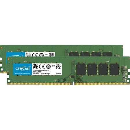 Crucial Crucial CT2K16G4DFRA32A geheugenmodule 32 GB 2 x 16 GB DDR4 3200 MHz