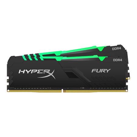 Kingston HyperX FURY HX434C16FB3AK2/16 geheugenmodule 16 GB 2 x 8 GB DDR4 3466 MHz