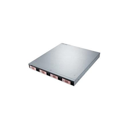 Fujitsu Tech. Solut. Fujitsu CELVIN NAS QR806 GX-420MC Ethernet LAN Rack (1U) Zwart, Zilver
