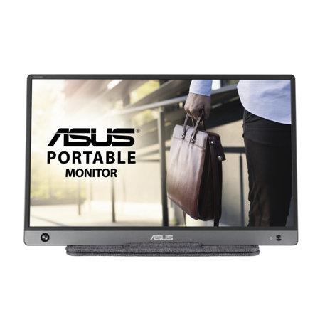 """Asus ASUS MB16AH 39,6 cm (15.6"""") 1920 x 1080 Pixels Full HD Zwart, Grijs"""