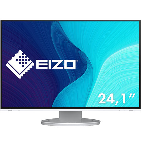 """Eizo EIZO FlexScan EV2495-WT computer monitor 61,2 cm (24.1"""") 1920 x 1200 Pixels WUXGA LED Wit"""