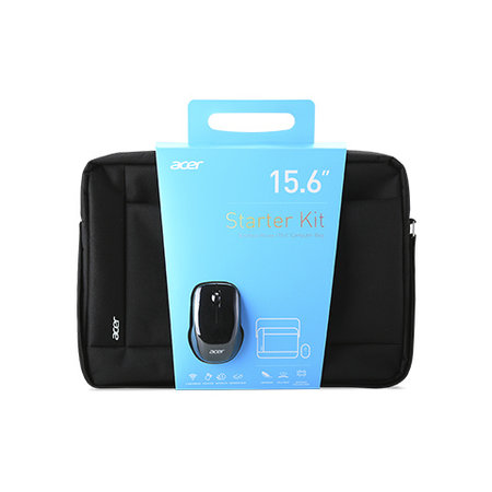 "Acer Acer NP.ACC11.02A notebooktas 39,6 cm (15.6"") Tas met bovensluiting Zwart"