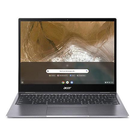 "Acer Acer Chromebook Spin 713 CP713-2W-39PF 34,3 cm (13.5"") 2256 x 1504 Pixels Touchscreen Intel® 10de generatie Core™ i3 8 GB DDR4-SDRAM 64 GB eMMC Wi-Fi 6 (802.11ax) Chrome OS Grijs"