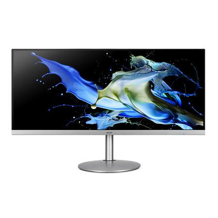 "Acer Acer CB2 CB342CKsmiiphzx 86,4 cm (34"") 3440 x 1440 Pixels 4K Ultra HD LED Zwart, Zilver"