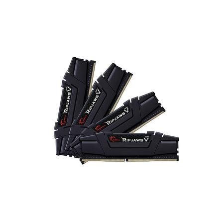 G.Skill G.Skill Ripjaws V F4-3600C14Q-64GVK geheugenmodule 64 GB 4 x 16 GB DDR4 3600 MHz