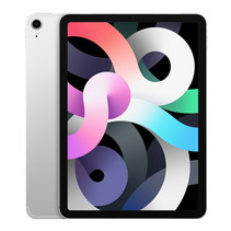 "Apple iPad Air 4G LTE 256 GB 27,7 cm (10.9"") Wi-Fi 6 (802.11ax) iOS 14 Zilver"