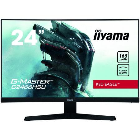 "Iiyama iiyama G-MASTER G2466HSU-B1 LED display 59,9 cm (23.6"") 1920 x 1080 Pixels Full HD Zwart"