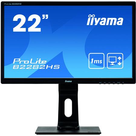 "Iiyama iiyama ProLite B2282HS-B5 LED display 54,6 cm (21.5"") 1920 x 1080 Pixels Full HD Zwart"