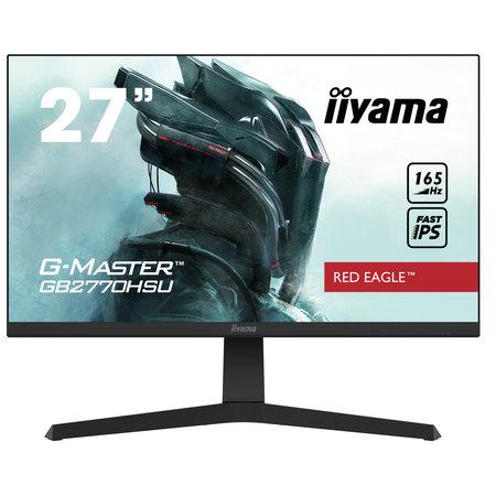 "Iiyama iiyama G-MASTER GB2770HSU-B1 computer monitor 68,6 cm (27"") 1920 x 1080 Pixels Full HD LED Zwart"