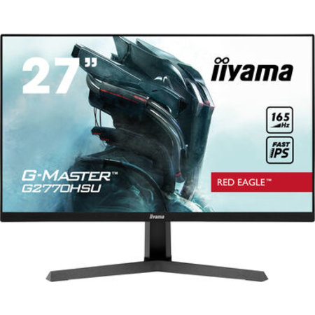 "Iiyama iiyama G-MASTER Red Eagle 68,6 cm (27"") 1920 x 1080 Pixels Full HD LED Zwart"