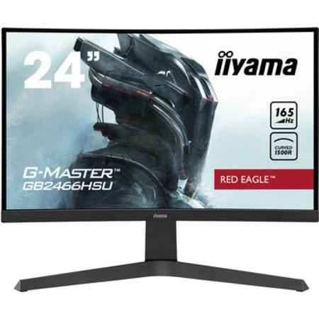 "Iiyama iiyama G-MASTER Red Eagle 60,5 cm (23.8"") 1920 x 1080 Pixels Full HD LED Zwart"