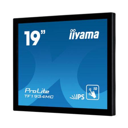 """Iiyama iiyama ProLite TF1934MC-B7X touch screen-monitor 48,3 cm (19"""") 1280 x 1024 Pixels Multi-touch Zwart"""