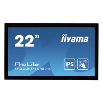 "iiyama ProLite TF2234MC-B7X touch screen-monitor 54,6 cm (21.5"") 1920 x 1080 Pixels Multi-touch Multi-gebruiker Zwart"