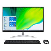"""Acer Aspire C24-1650 I5522 NL 60,5 cm (23.8"""") 1920 x 1080 Pixels Intel® 11de generatie Core™ i5 8 GB DDR4-SDRAM 1000 GB SSD Windows 10 Home Wi-Fi 6 (802.11ax) Alles-in-één-pc Zilver"""