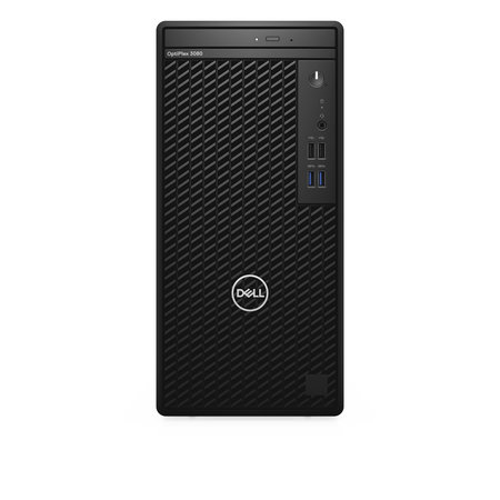 Dell DELL OptiPlex 3080 DDR4-SDRAM i5-10500 Mini Tower Intel® 10de generatie Core™ i5 8 GB 256 GB SSD Windows 10 Pro PC Zwart