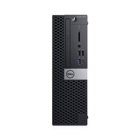 Dell DELL OptiPlex 5070 DDR4-SDRAM i5-9500 SFF Intel® 9de generatie Core™ i5 8 GB 256 GB SSD Windows 10 Pro PC Zwart