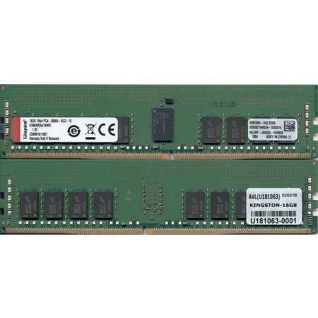 Kingston Kingston Technology KSM26RS4/16MEI geheugenmodule 16 GB 1 x 16 GB DDR4 2666 MHz ECC
