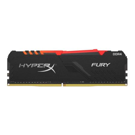 Kingston HyperX FURY HX437C19FB3A/16 geheugenmodule 16 GB 1 x 16 GB DDR4 3733 MHz