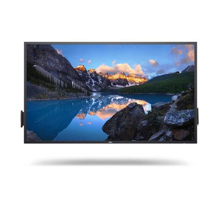 """Dell DELL C6522QT Interactief flatscreen 163,9 cm (64.5"""") LCD 4K Ultra HD Zwart Touchscreen"""