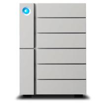 LaCie 6big Thunderbolt 3 disk array 60 TB Desktop Zilver
