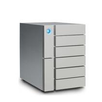 LaCie 6big Thunderbolt 3 disk array 84 TB Desktop Zilver