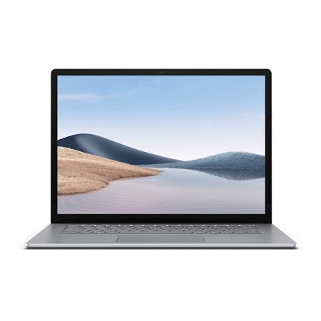 "Microsoft Microsoft Surface Laptop 4 LPDDR4x-SDRAM Notebook 38,1 cm (15"") 2496 x 1664 Pixels Touchscreen Intel® 11de generatie Core™ i7 8 GB 256 GB SSD Wi-Fi 6 (802.11ax) Windows 10 Pro Platina"
