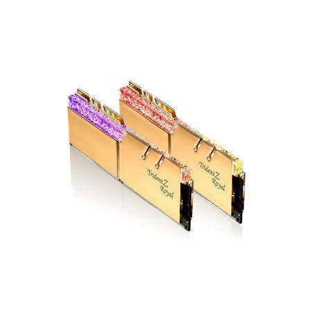 G.Skill G.Skill Trident Z Royal F4-4800C17D-16GTRG geheugenmodule 16 GB 2 x 8 GB DDR4 4800 MHz